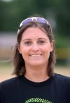 Marian Catholic softball coach Kerri Evans