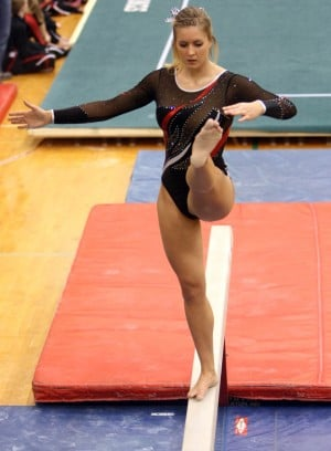 Washington Township's Feldsien aims to make one final trip to state gymnastics finals