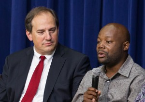 Gary man talks with vice president about minimum wage hike