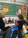 Preschoolers learn their stuff at Nativity
