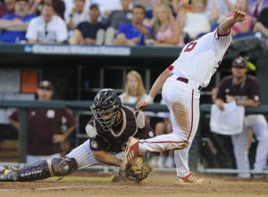 Hoosiers fall to Miss. State at CWS