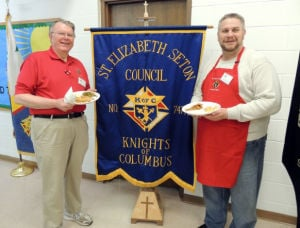 Knights of Columbus to hold two Lenten fish frys March 7 and April 4