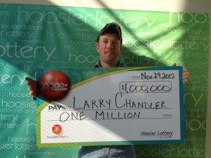 Highland man claims $1 million Powerball prize