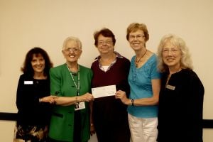 Foresters donate to Alzheimer's group