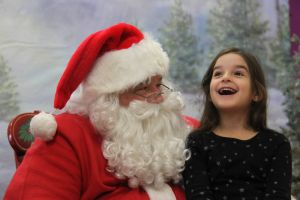 All smiles (mostly) at annual Chamber Breakfast with Santa