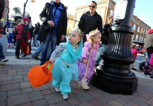 Halloween trick-or-treat hours across the region