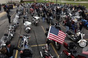 Gallery: Rose Ride for fallen Merrillville police Officer