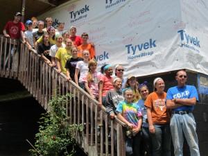 Marian Catholic students volunteer in Appalachia