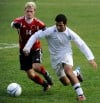 Portage's Alex Becker. Valparaiso's Yamen Atassi