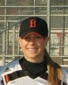 Beecher softball player Skyler Woods