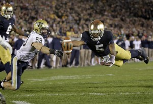 AL HAMNIK: Notre Dame future in good hands with QB Golson