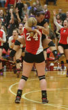 Crown Point faces Munster in girls volleyball regional
