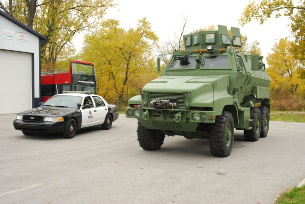 Swat Team Armored Vehicles Swat Team Obtains Armored