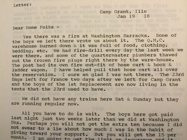 DOUG ROSS World War I Letters Delivered Multiple Times
