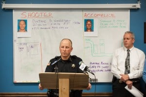 Two charged in Portage murder-for-hire plot; one suspect at large