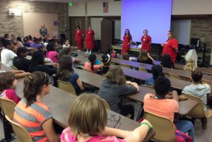 MIS fifth graders learn about hygiene, puberty