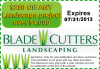 $250 Landscaping Service Coupon