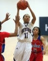 T.F. North's Amber Patterson-Moss a key to the Meteors' success