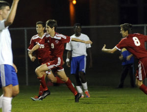 Munster blows out depleted Highland team in boys soccer