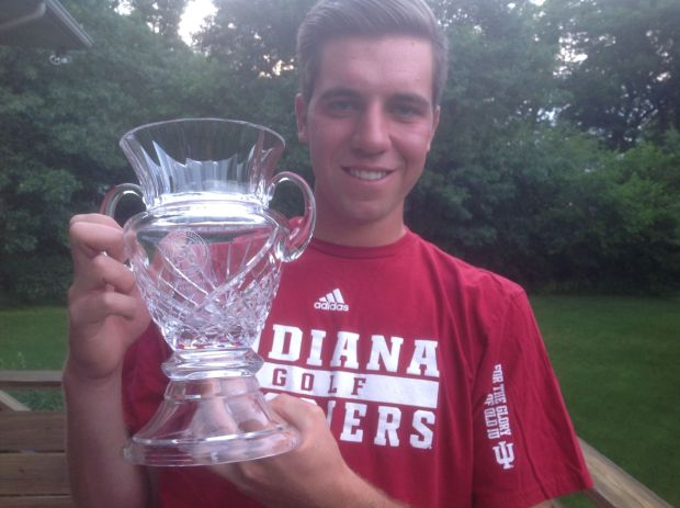 Grubnich gets help from mom after winning Indiana State Amateur Golf Tournament