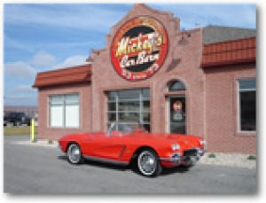 Mickey's Car Barn repair or restoration of your antique corvette call us today!