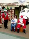 Santa visits Crown Point Library