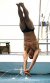 Valparariso's Muyenda Burnett, boys state swim meet 2012