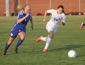 C.P. rallies late to rout L.C. girls soccer team