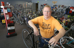 Biking ramps up in region