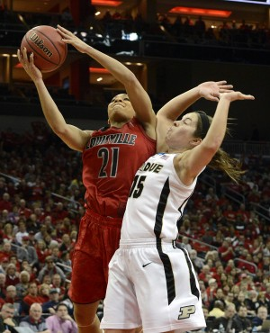 Louisville eliminates Purdue women in second round
