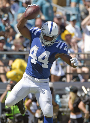 Colts' Ahmad Bradshaw thrives on comeback trail