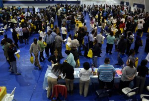 South Suburban College, Thornton Township team up for job fair