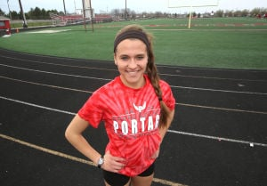 Portage cross country standout prefers 800 run in track