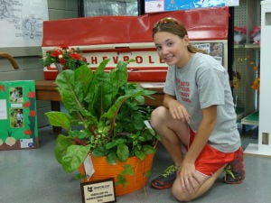 Top Green Leaf 4-H Garden Award is new to fair