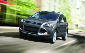 Ford Escape offers spirited driving