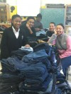 Seton teens collect jeans for the homeless