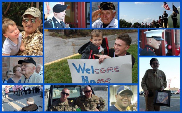 Honor your military heroes by emailing us their photos