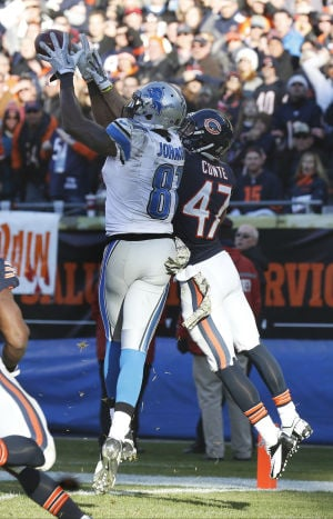 Bears secondary limits Lions' Johnson, but not enough
