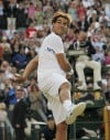 U.S.'s Fish loses to Nadal in 1st Wimbledon quarterfinal