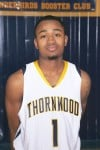Thornwood basketball player Darell Combs