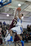 Lake Central senior Tyler Ross goes up for a layup during Friday night's Duneland game against Chesterton.
