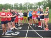 South Central girls track