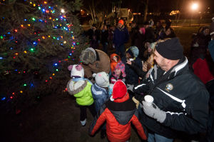 Hobart rings in holiday season with tree lighting ceremony