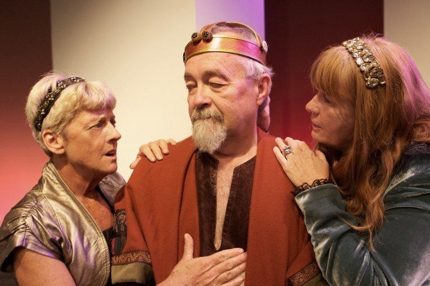 Retirement Blues Drama as a Fully-Realized King Lear Emerges in Gary