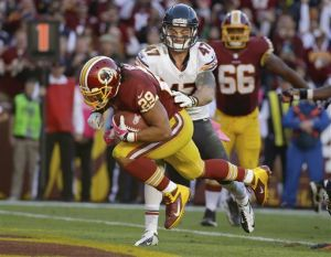 Redskins outscore Bears, backup QB McCown