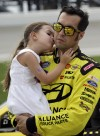 Sam Hornish Jr. returns to Indy as Nationwide leader