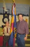 Cub Scout joins Miler's Club