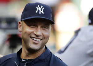 Jeter turns small part of attention to business