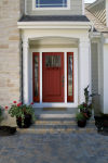 Doors that go pop: rethinking entranceway color