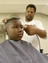 Students receive free haircuts at Gary church
